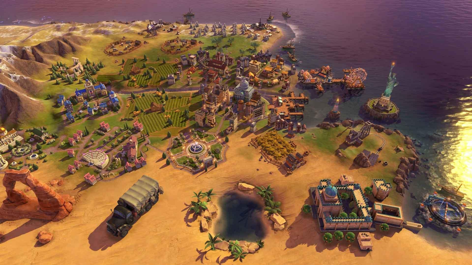 Sid meier 39 s civilization vi rise and fall download - Civ 6 wallpaper ...