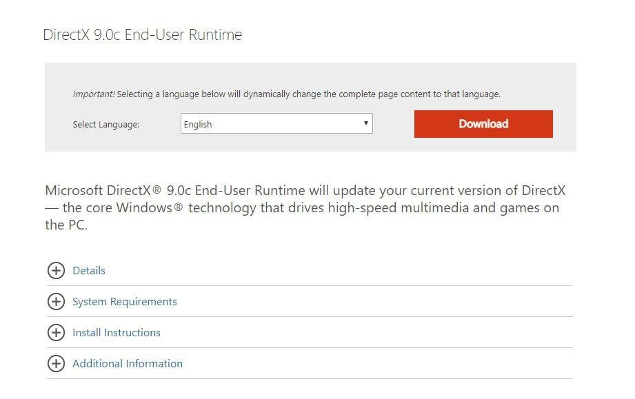 Microsoft directx runtime windows 8 1 | Access 2007 Runtime