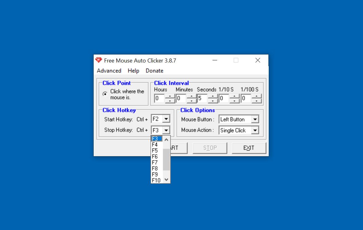 Free Mouse Auto Clicker-2